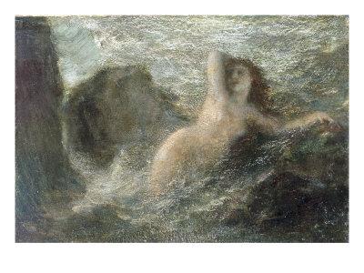 Ondine, 1880 Giclee Print by Henri Fantin-Latour