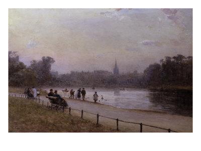 Kensington Gardens, 1893 Giclee Print by Rose Maynard Barton