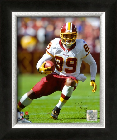 Santana Moss 2009 Framed Photographic Print