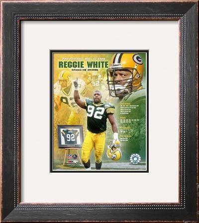 Reggie White Framed Photographic Print