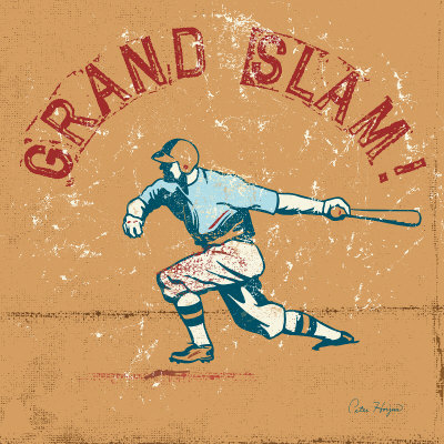 Grand Slam Posters by Peter Horjus
