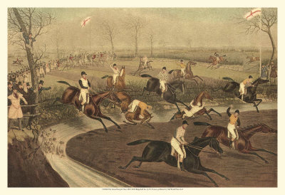 The Grand Steeple Chase III Prints by Francis Calcraft Turner