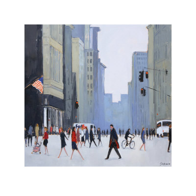 5th Avenue, New York Art Print