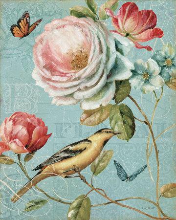 Spring Romance II Prints by Lisa Audit