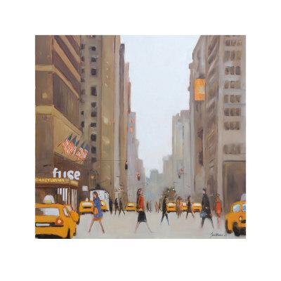 7th Avenue, New York Plakater af Jon Barker