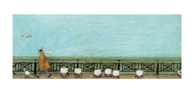 Moses Follows That Picnic Basket Prints by Sam Toft