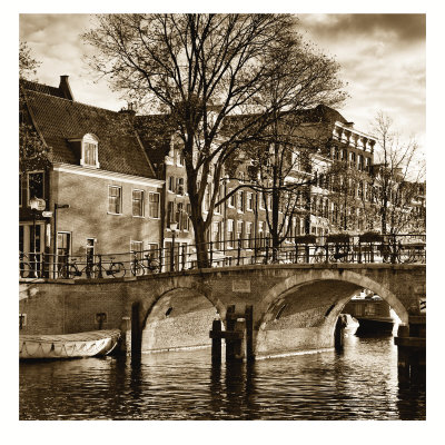 Autumn in Amsterdam II Art Print