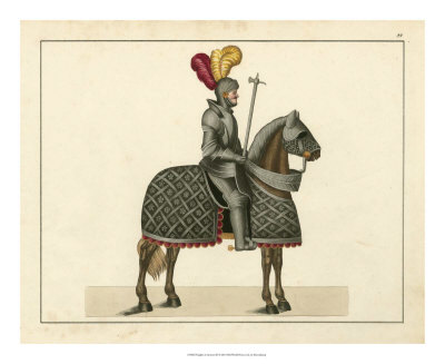 Knights in Armour III Giclee Print by  Kottenkamp!