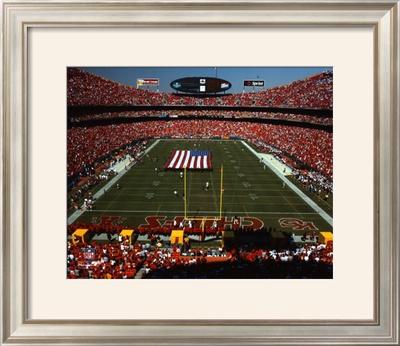 Arrowhead Stadium - KC Chiefs - Daytime Framed Photographic Print