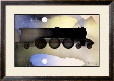 The Night Scotsman Framed Giclee Print by Alexander Alexeieff