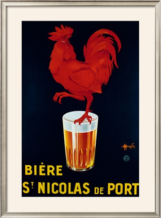 Biere St. Nicolas de Port Framed Giclee Print by Marcellin Auzolle