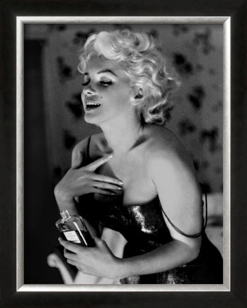 Marilyn Monroe, Chanel No.5 Poster by Ed Feingersh