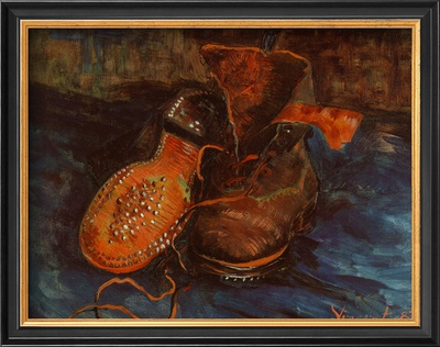 Pair of Boots, c.1887 Art by Vincent van Gogh
