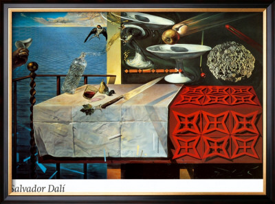 A Lively Still Life Art by Salvador Dalí