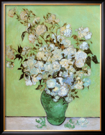 A Vase of Roses, c.1890 Posters by Vincent van Gogh