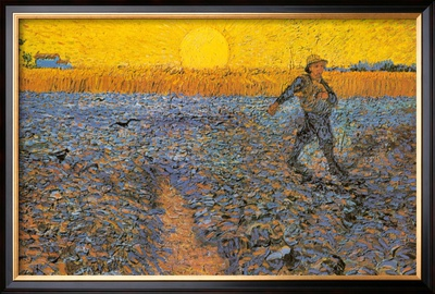 The Sower, c.1888 Poster by Vincent van Gogh
