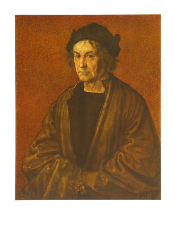 Portrait of Durer's Father Art Print