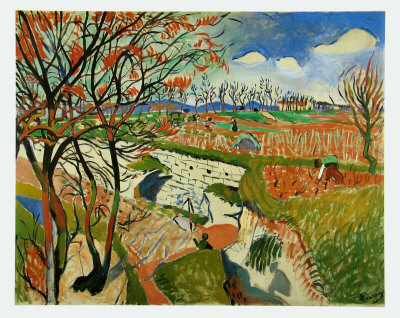 Vineyard in Spring, c.1906 Posters by Andre Derain