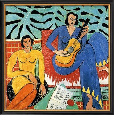 Music Framed Giclee Print by Henri Matisse