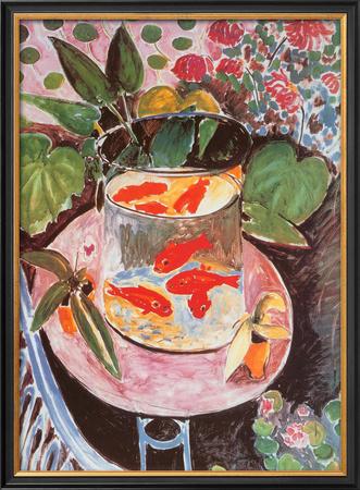 Goldfish Prints by Henri Matisse