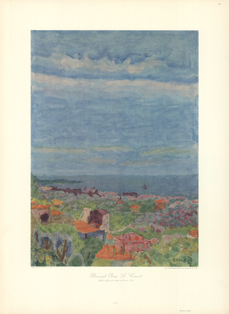 Le Cannet Near Nice Collectable Print by Pierre Bonnard