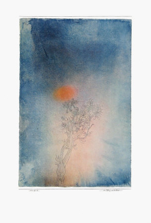 The Plant and Its Enemy Collectable Print by Paul Klee