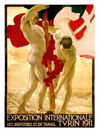 Expo Internationale Turin, 1911 Giclee Print