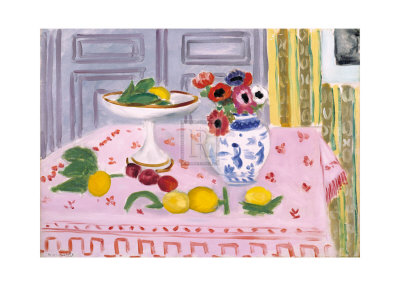 The Pink Tablecloth, c.1925 Prints by Henri Matisse
