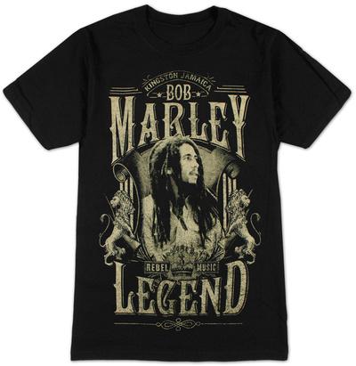 Bob Marley - Rebel Legend T-Shirts