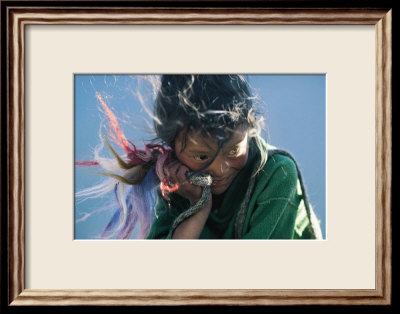 Joie Framed Art Print
