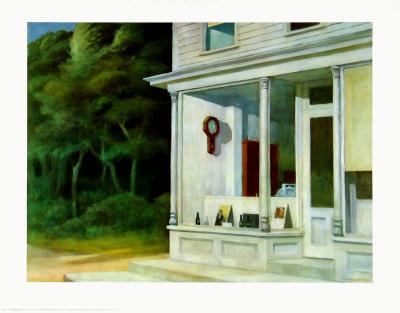 Seven A.M. Prints by Edward Hopper