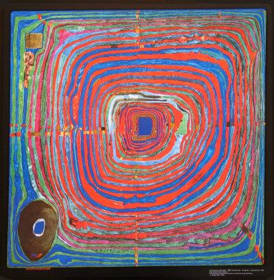 The Big Way Prints by Friedensreich Hundertwasser