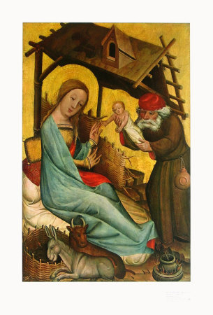 Nativity Art by  Master Bertram of Minden