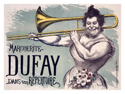 Marguerite Dufay Giclee Print by Louis Anquetin