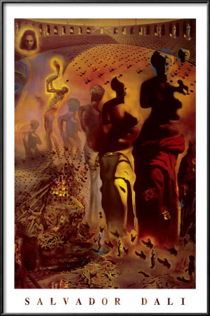 The Hallucinogenic Toreador, c.1970 Lamina Framed Poster
