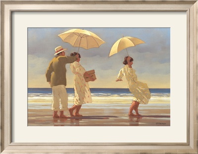 The Picnic Party II Framed Art Print
