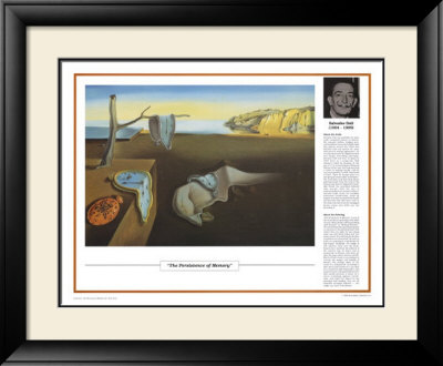 The Persistence of Memory, c.1931 Framed Art Print