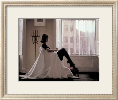 In Thoughts of You Framed Art Print