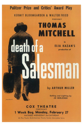 Death Of A Salesman Premium Poster