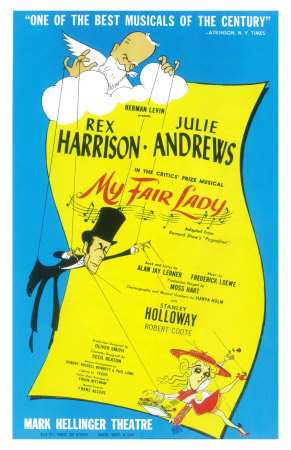My Fair Lady Premium Poster