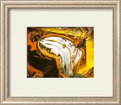 Soft Watch at the Moment of First Explosion, c.1954 Framed Art Print