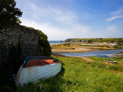 Mahon River at Bunmahon, Copper Coast, Co Waterford, Ireland Photographic Print