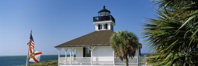 Port Boca Grande Lighthouse, Gasparilla Island State Park, Boca Grande, Gasparilla Island, Florida Photographic Print by  Panoramic Images