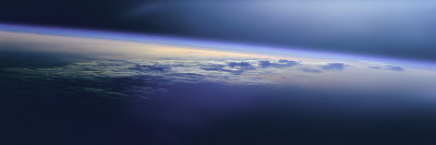 Satellite View of the Earth Fotografie-Druck von  Panoramic Images