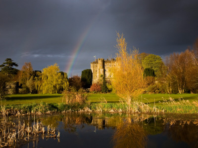 Kilkea Castle Hotel, Built 1180 by Hugh De Lacey, Kilkea, Co Kildare, Ireland Photographic Print