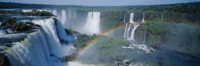 Iguacu Falls Parana Brazil Photographic Print by  Panoramic Images