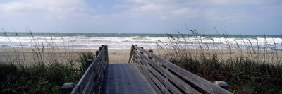 Boardwalk on the Beach, Nokomis, Sarasota County, Florida, USA Photographic Print by  Panoramic Images