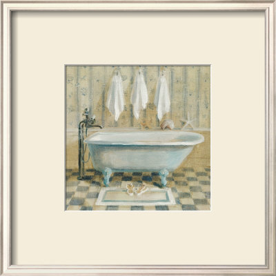 Victorian Bath IV Poster by Danhui Nai