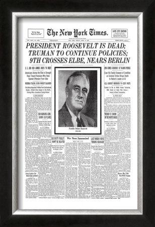 president roosevelt pictures. 1945: President Roosevelt