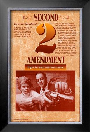 The Bill of Rights - Second Amendment Prints